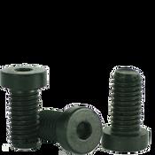 M8-1.25x35 MM Partially Threaded Low Head Socket Caps 10.9 Coarse Alloy DIN 7984 Thermal Black Oxide (700/Bulk Pkg.)