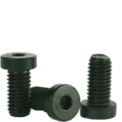 M8-1.25x45 MM Partially Threaded Low Head Socket Caps 10.9 Coarse Alloy DIN 7984 Thermal Black Oxide (500/Bulk Pkg.)