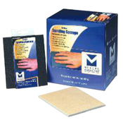 "Contour Sanding Sponges - 4-1/2"" x 5-1/2"" x 3/16"", Grade: Medium, Grit: 120, Mercer Abrasives 279TME (24/Pkg.)"