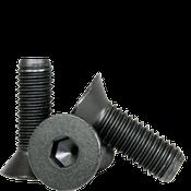 "1/2""-13x3"" Partially Threaded Flat Socket Caps Coarse Alloy Thermal Black Oxide (150/Bulk Pkg.)"