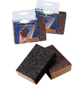 "Flexible Sanding Sponges - 3-3/4"" x 2-5/8"" x 1"", Grade: Medium/ Coarse, Grit: 120/80, Mercer Abrasives 280FMC (100/Pkg.)"