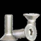 M10-1.50x30 MM Fully Threaded Flat Socket Caps Coarse 18-8 Stainless (600/Bulk Pkg.)