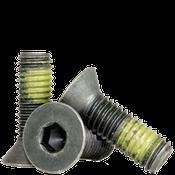 "3/4""-10x1-3/4"" Fully Threaded Flat Socket Caps Coarse Alloy w/ Nylon-Patch Thermal Black Oxide (50/Bulk Pkg.)"