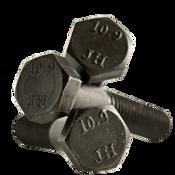 M16-1.50x110 MM Partially Threaded Hex Cap Screws 10.9 DIN 960 Fine Alloy Plain (90/Bulk Qty.)