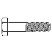 M12-1.75x80 MM Partially Threaded Metric 10.9 Hex Cap Screw Zinc Yellow (200/Bulk Pkg.)