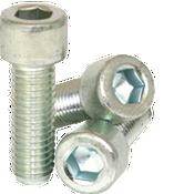 "1/4""-28x1-1/2"" Partially Threaded Socket Head Cap Screw Fine Alloy Zinc-Bake Cr+3 (1,000/Bulk Pkg.)"