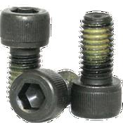 "1/2""-13x5/8"" Fully Threaded Socket Head Cap Screws Coarse Alloy Nylon-Patch Thermal Black Oxide (150/Bulk Pkg.)"
