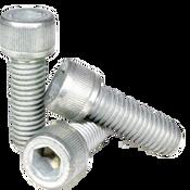 """1/4""""-20x5/8"""" Fully Threaded Socket Head Cap Screws Coarse Alloy Mechanical Zinc (500/Bulk Pkg.)"""