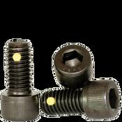 "1/4""-28x1/2"" (FT) Socket Head Cap Screws Fine Alloy Nylon-Pellet Thermal Black Oxide (500/Bulk Pkg.)"