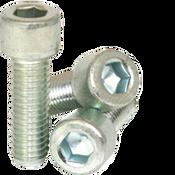 "1/4""-28x1/2"" Fully Threaded Socket Head Cap Screw Fine Alloy Zinc-Bake Cr+3 (2,500/Bulk Pkg.)"