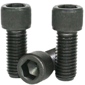 "7/8""-9x2"" Partially Threaded Socket Head Cap Screws Coarse Alloy 1936 Series Thermal Black Oxide (60/Bulk Pkg.)"