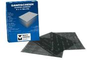Silicon Carbide Sandscreen Sandpaper Sheets 9 x 18, Grit: 400, Mercer Abrasives 210400 (25/Pkg.)