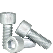 M8-1.25x10 MM Fully Threaded Socket Head Cap Screw 12.9 Coarse Alloy ISO 4762 / DIN 912 Zinc-Bake Cr+3 (1,300/Bulk Pkg.)
