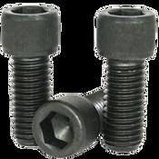 "1""-8x4"" Partially Threaded Socket Head Cap Screws Coarse Alloy 1936 Series Thermal Black Oxide (25/Bulk Pkg.)"