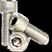 """1/4""""-28x7/16"""" Socket Head Cap Screws Fine 18-8 Stainless (2,500/Bulk Pkg.)"""