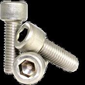 """#0-80x5/16"""" Socket Head Cap Screws Fine 18-8 Stainless (1,000/Bulk Pkg.)"""