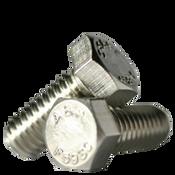 "1""-8x5"" Partially Threaded Hex Cap Screws Coarse A2 18-8 Stainless Steel (20/Bulk Pkg.)"
