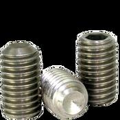 "#8-32x1/4"" Socket Set Screws Cup Point Coarse Stainless 316 (5,000/Bulk Pkg.)"