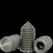 "#10-24x1/2"" Standard Socket Set Screws Cone Point Coarse Alloy Thermal Black Oxide (5,000/Bulk Pkg.)"