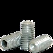 M5-0.80x5 MM Socket Set Screw Cup Point 45H Coarse Alloy ISO 4029 / DIN 916 Zinc-Bake Cr+3 (5,000/Bulk Pkg.)