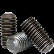 M4-0.70x5 MM Socket Set Screws Flat Point 45H Coarse Alloy ISO 4026 / DIN 913 (5,000/Bulk Pkg.)