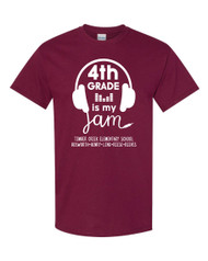 TCES 4th Grade t-shirt