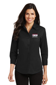 Port Authority® Ladies 3/4 Sleeve Easy Care Shirt
