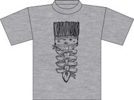 TCES 4th and 5th Grade Art Club Heather Gray T-Shirt (Next Level)