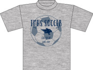TMHS JV Girls Soccer Grey T-Shirt (Next Level)