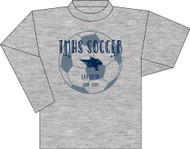 TMHS JV Girls Soccer Grey Long Sleeve (Next Level)
