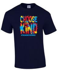 Oakcrest Intermediate Choose Kind Anti Bullying Navy T-shirt