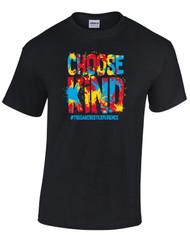 Oakcrest Intermediate Choose Kind Anti Bullying Black T-shirt