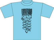 TCES 2nd and 3rd Grade Art Club Blue T-Shirt (Next Level)