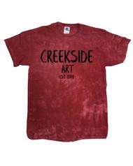 CPJH Art Red Crystal T-shirt