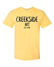 CPJH Art Est 2015 Yellow T-shirt (garment dyed)