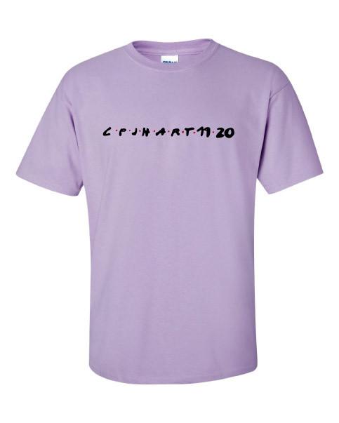 CPJH Art Lavender T-shirt