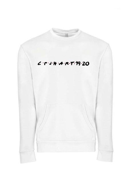 CPJH Art White Sweatshirt