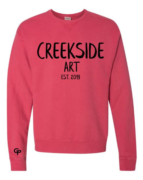 CPJH Art Red Sweatshirt