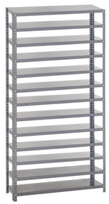Steel Shelving - Rack Only - 12 x 36 x 75 (V1275-000)
