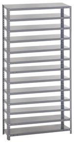 Steel Shelving - Rack Only - 18 x 36 x 75 (V1875-000)