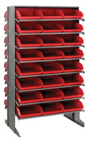 Steel Shelving with 48 Shelf Bins - 12 x 11 x 4 (VQPRD-109)