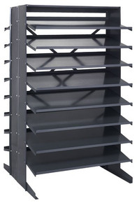 Steel Shelving - Rack Only - 36 x 36 x 60 (VQPRD18-000)