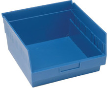 VQSB209 - 12x11x6 - Plastic Shelf Bins - Blue
