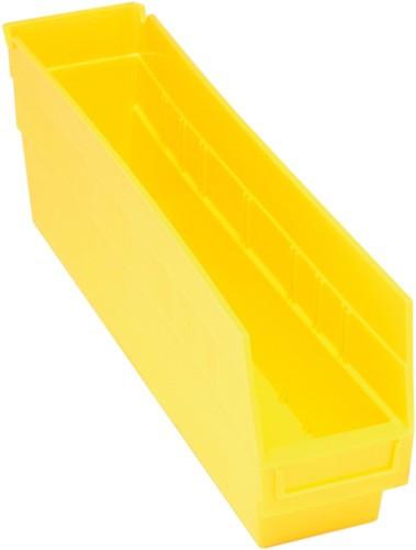 VQSB203 - Plastic Parts Bins - 18x4x6 - Yellow