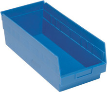 VQSB208 - 18x8x6 - Plastic Parts Bins - Blue