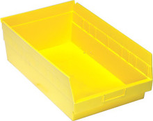 VQSB210 - Plastic Parts Bins - 18x11x6 - Yellow