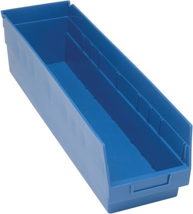 VQSB206 - Plastic Parts Bins - 24x7x6 - Blue