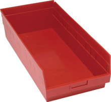 VQSB216 - Plastic Parts Bins - 24x11x16 - Red