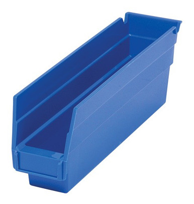 VQSB100 Plastic Shelf Bins - 6 Colors - PlasticPartsBins.com