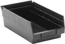 VQSB102 - Plastic Shelf Bins - 12 x 6 x 4